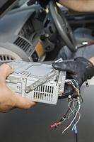 Theft of car radio