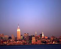 マンハッタンの夕景