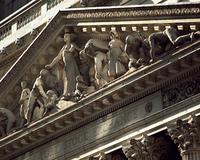 証券取引所の彫像