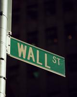 ウォール街の標識