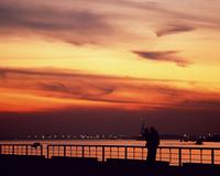 ニューヨークの夕景