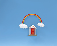 クラフト(虹と扉)