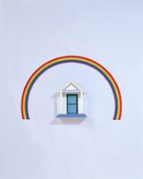 クラフト(虹とポーチ)