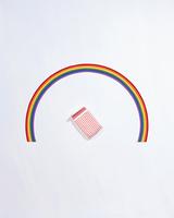 クラフト(虹とベッド)