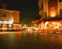 モンマルトルの街角