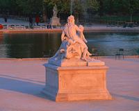 コンコルド広場の彫像