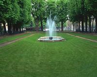 リュクサンブール公園の噴水