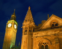 英国議会議事堂とビッグベン