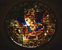 ドゥオモのステンドグラス窓