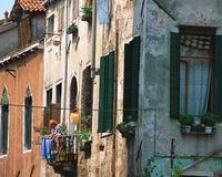ベネチアの住宅街