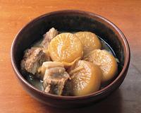 角煮と大根の煮物