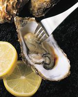 牡蠣とレモン