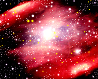 星雲イメージ(CG)