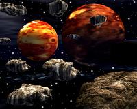 木星イメージ(CG)