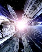 未来輸送システムイメージ(CG)