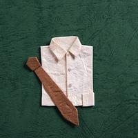 クラフト(ワイシャツとネクタイ)
