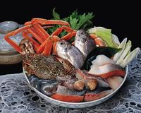 海鮮鍋の材料