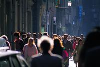 街角の人々