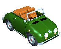 オープンカー(CG)