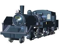 C11形蒸気機関車(CG)