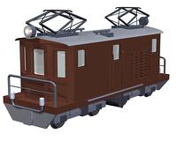 電気機関車(CG)