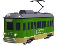 路面電車(CG)