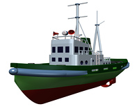 タグボート(CG)