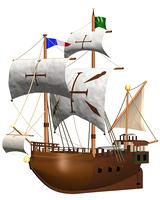 帆船(CG)