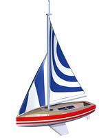 ヨット(CG)