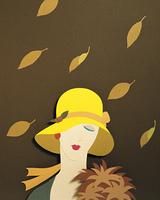 クラフト(秋の女性)