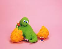 クラフト(恐竜の赤ちゃん)