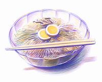 冷麺(イラスト)