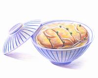 カツ丼(イラスト)