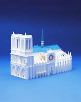 ノートルダム寺院(クラフト)