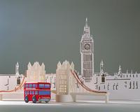 ビッグベンとロンドンバス(クラフト)