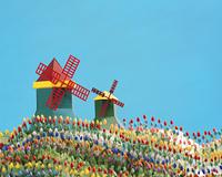 オランダの風車(クラフト)