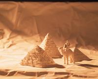 エジプトのピラミッド(クラフト)