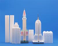 ニューヨークの摩天楼(クラフト)