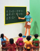 算数の授業(クラフト)
