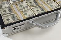Briefcase Full of Money