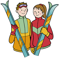 スキー 恋人