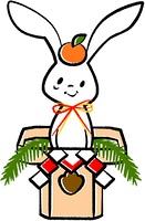 ウサギの正月