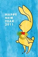 2011年年賀状(はがきデザイン)