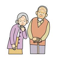 高齢の男女
