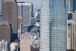 高層ビルと港区の街並み