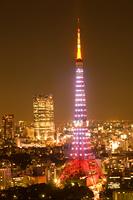 東京タワーと六本木ヒルズ