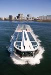 隅田川を走る水上バス