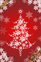 クリスマスツリー縦構図