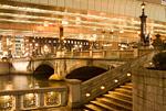 夕暮れの日本橋