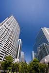 品川駅東口高層ビル街